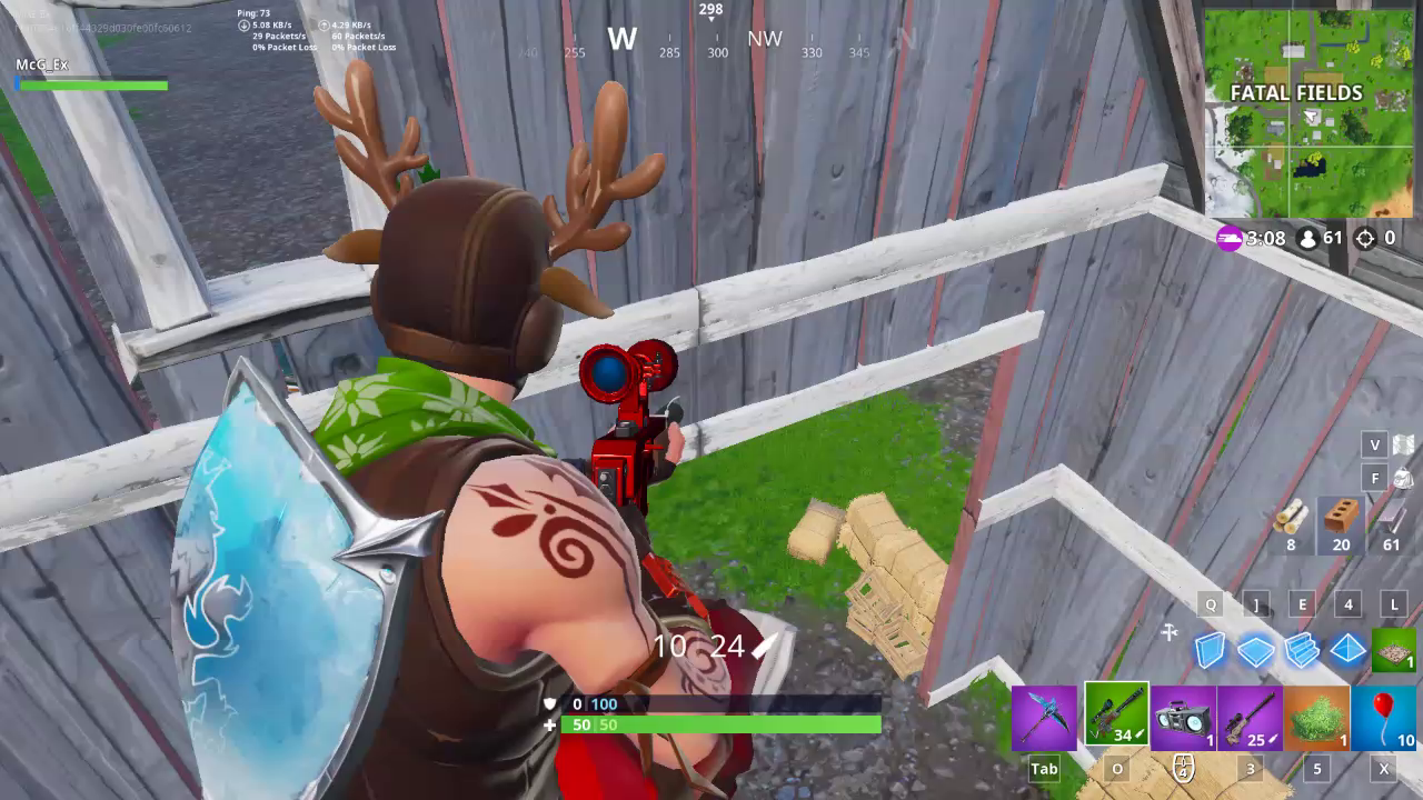 That No scope though!
