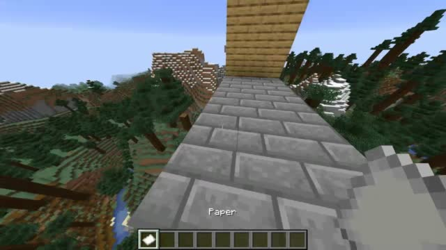 How does Steve get his exercise?  He runs around the block.  Other_Minecraft_gamers_like_you